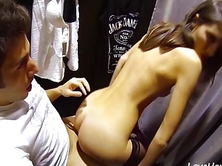 Fuck And Facial In Changing Room