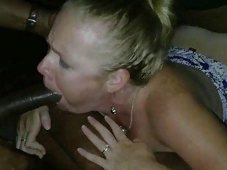 Raunchy MILF Becca  is eager for interracial pussy drilling POV