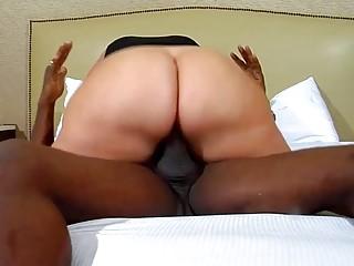 Mature redhead likes her big black boner