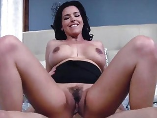 Milf and her man are having passionate sex