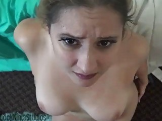Girlfriend gets penetrated in hardcore fashion in POV