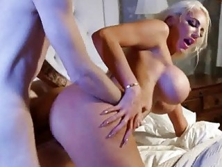Hot blondes take care of a rock-solid pecker