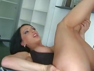 Gorgeous amateur fucks mature man like a nasty anal cowgirl